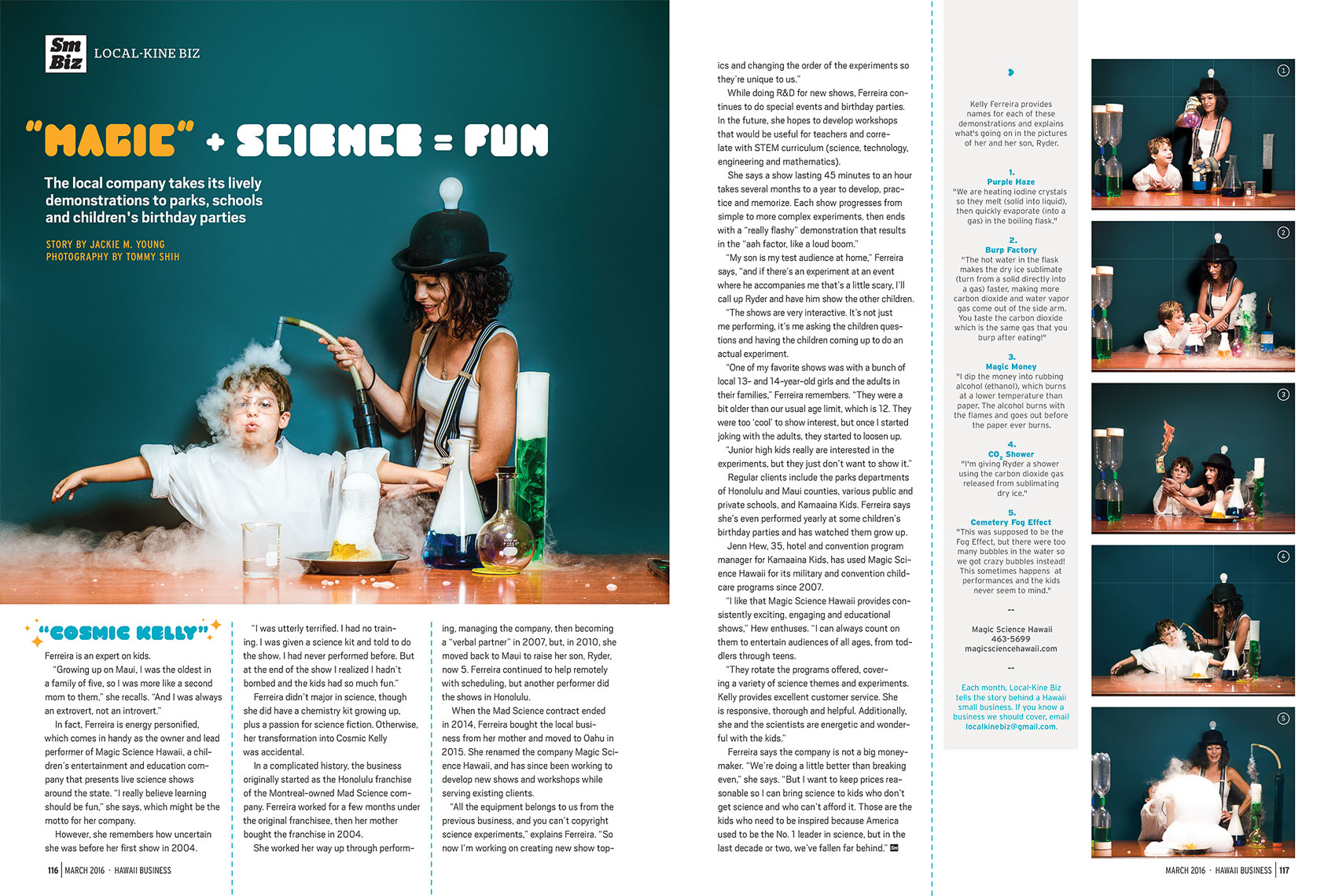 Magic Science Hawaii - Hawaii Business Magazine
